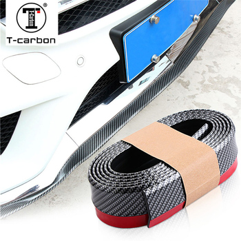 Carbon Fiber Car Front Lip Side Skirt Body Trim Bumper For BMW E81 E82 E87 E90 E91 E92 E93 E36 E38 E39 E46 Z4 Z3 E53 X5 X3 E60 image
