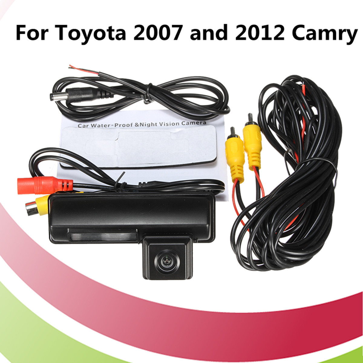 KROAK CCD/HD Car Rear View Camera Fit For Toyota 2007 and 2012 Camry Reverse Backup Camera Parking AidKROAK CCD/HD Car Rear View Camera Fit For Toyota 2007 and 2012 Camry Reverse Backup Camera Parking Aid