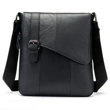 Популярная мужская сумка из натуральной кожи, мужская сумка-мессенджер, маленькая сумка с клапаном, деловая сумка из воловьей кожи, мужские сумки через плечо для мужчин, сумка-тоут