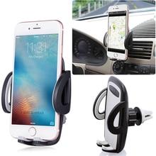 1 pcs Universal 360 Graus Car Air Vent Mount Holder Cradle Suporte para IPhone Ect. Acessórios Do Carro Ratotable