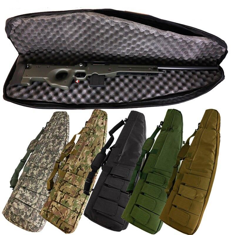 Sac pistolet tactique 120 CM pistolet lourd Airsoft fusil chasse tir pistolet Protection sac militaire épaule pochette armée sac à dos
