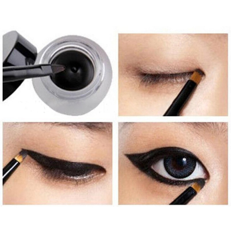 5a2b0d3176a Detail Feedback Questions about Best Seller 2 in 1 Coffee + Black Gel  Eyeliner Make Up Waterproof Cosmetics Set Eye Liner Makeup Eye maquiagem on  ...