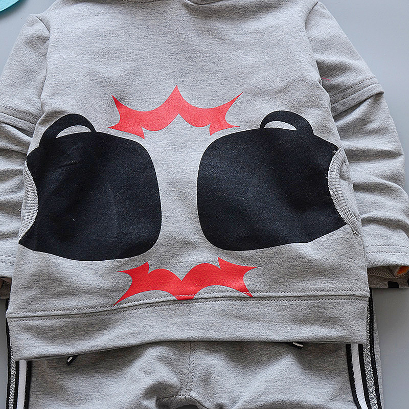 Baby boys clothes set infant Autumn Newborn Girl clothing Warm Hooded Coat Tops+Pants Outfits childrens costumes Sweatshirt