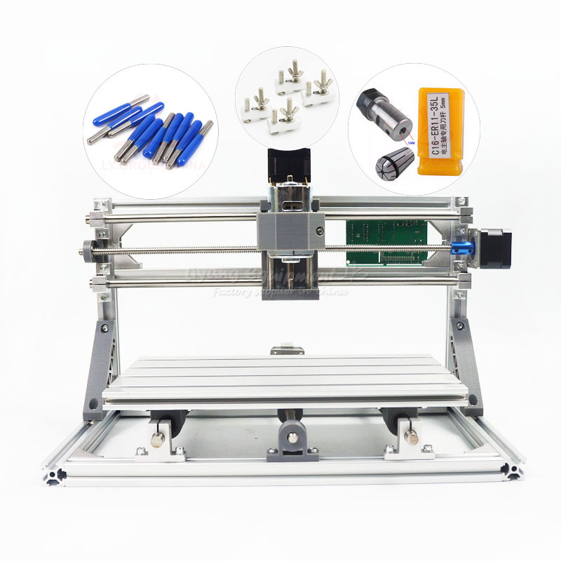 CNC engraving machine mini CNC 2418 PRO diy mini cnc router with GRBL control include tax to Russia eur free tax cnc 6040z frame of engraving and milling machine for diy cnc router
