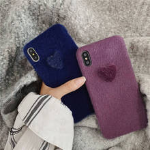 Wool Love For Iphone 6 6s 7 8P X Xs Xr Ma Simple Explosion Mobile Phone Case