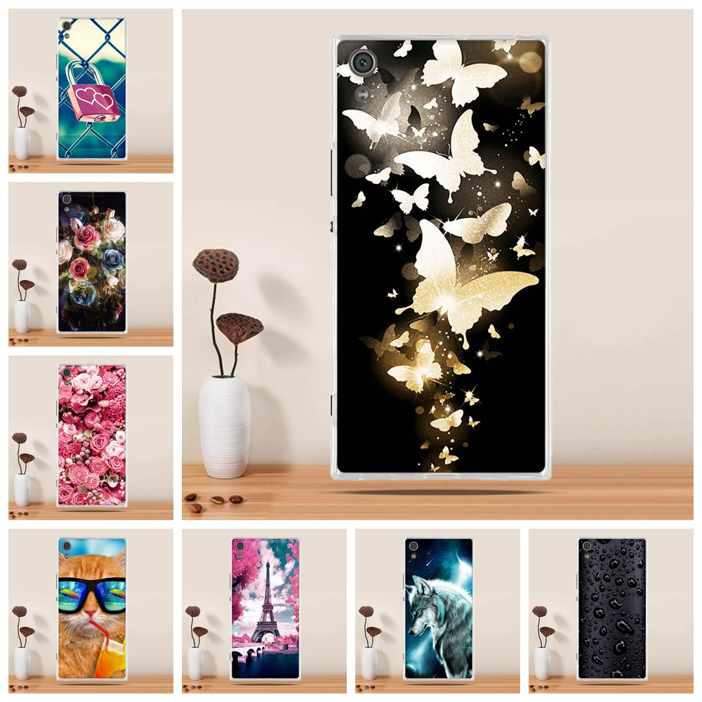 For Sony Xperia XA1 Ultra Case Silicone Cover for Sony Xperia XA1 Ultra F3212 F3216 6.0