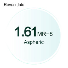 Reven Jate MR 8 Optical Prescription Tinted Lenses Super Tenacious 1.61 Aspheric Optical Lenses UV400 Solid and Gradient Tinted