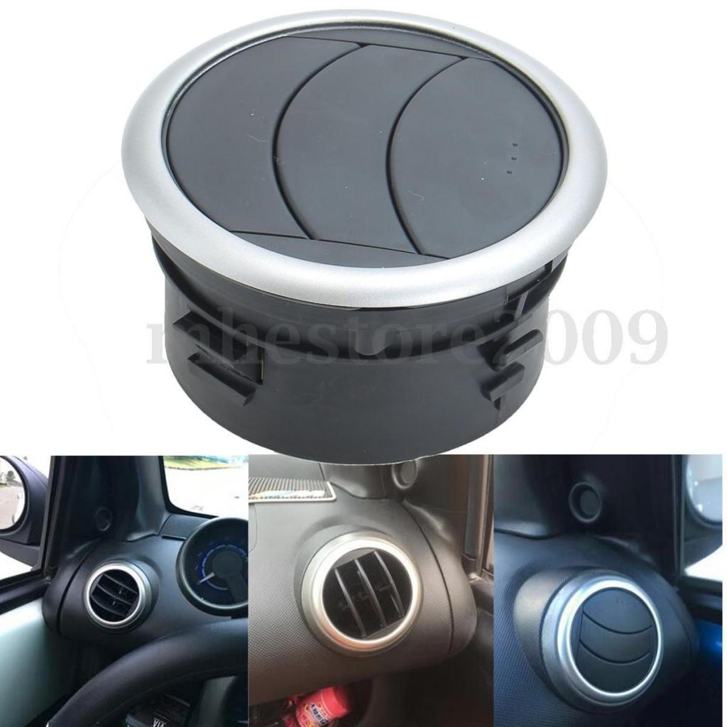 1x Vent Cover Grille 360° Rotation Dashboard Dash A/C Heater Air Vent Outlet Plastic For 2005-2013 Suzuki SX4 Car Accessories
