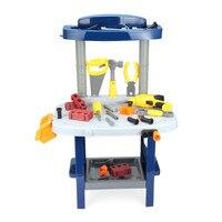 Baby Kids Luxury Simulation Repair Tools with a Tool Box Educational Pretend Play Toy Christmas Xmas Gifts 37pcs Repair Tool