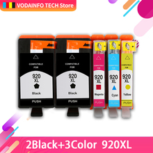 compatible FOR hp 920 xl 920XL ink cartridge For HP HP Officejet 6000 /6500/6500 /6500A /7000/7500/7500A with chip все цены