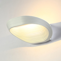 Modern LED Wall Lamp 12W Home Decoration Wall Light For Living Room Aluminum Wall Sconce Super