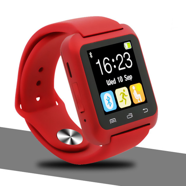 Red Smartwatch android 5c649caf6fbb9