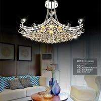 Brief Modern Crystal Creative European Living Pendant Lights Lamp LED Lamp Bedroom Dining Hall Corridor Lamp