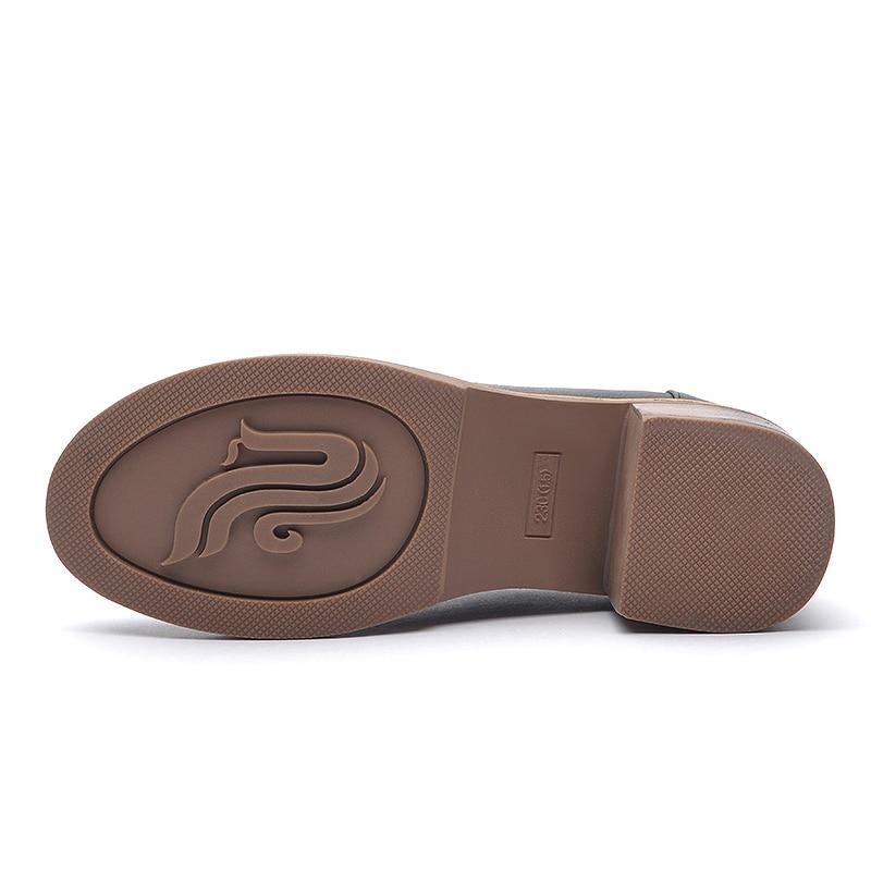 Del Retro Laikajindun Señoras Correa Británico Tobillo Bombas Grueso Cm Niñas Negro 5 Negro Estilo Mujer caqui Moda Talón Zapatos Nude PtqPrwZ