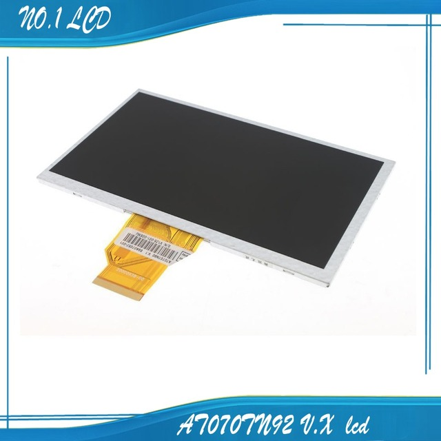 "7.0"" INNOLUX AT070TN92 V.X LCD Screen 7DD1+1 FPC 800*480 for Tablet Car DVD lcd 165*100*3mm"