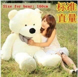 Free shipping bridthday gift Lovely teddy bear toys best price and high quality, bear plush toy,120cm big size one, 3 color
