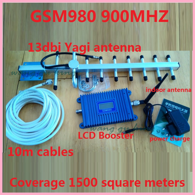 13dbyagi+LCD Display! Mobile Phone GSM 980 900mhz Signal Boosters,cellular Phone GSM Signal Repeater Gsm Signal Amplifier