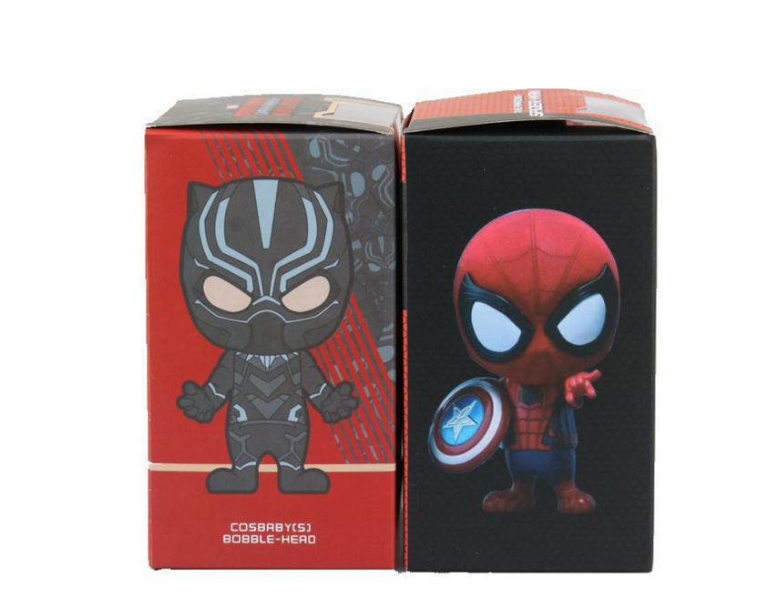 Kids Toys Action Figure: Marvel Figure Black Panther Spiderman Action Figure Wacky