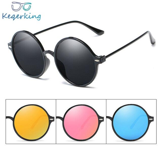 30e9053a54 Vintage Round Sunglasses For Women Men Brand Designer Mirrored Glasses  Retro Female Male Sun Glasses UV400 Eyewear ZB-26
