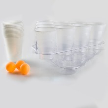 BEER PONG GAME,board games for adult,table top games,sink it,drink it,get bombed,includes 2 racks 3 balls 22 cups SE017