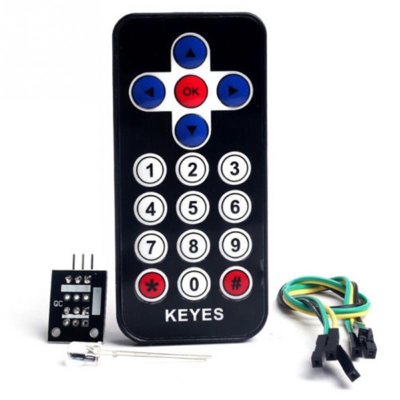 High Quality Infrared Remote Control Module Wireless IR Receiver Module DIY Kit HX1838 For Arduino Raspberry Pi #0808