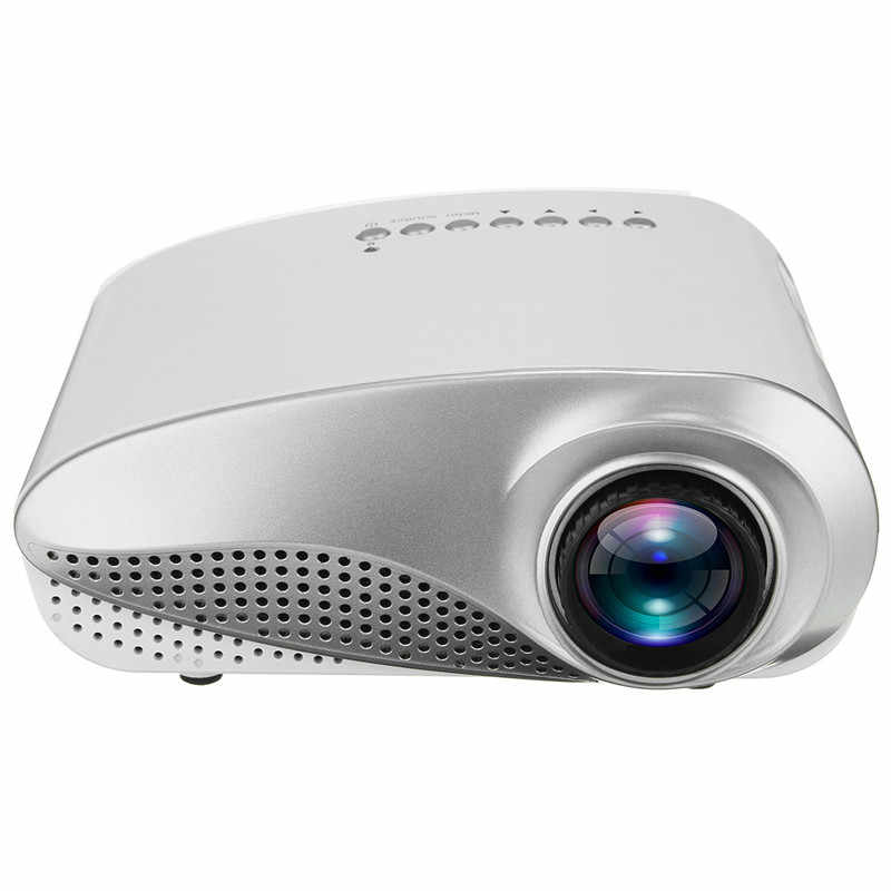 HIPERDEAL 3D Full HD 1080P Mini Projector LED Multimedia Home Theater 60 Lumen Manual Remote control Front projection Apr19