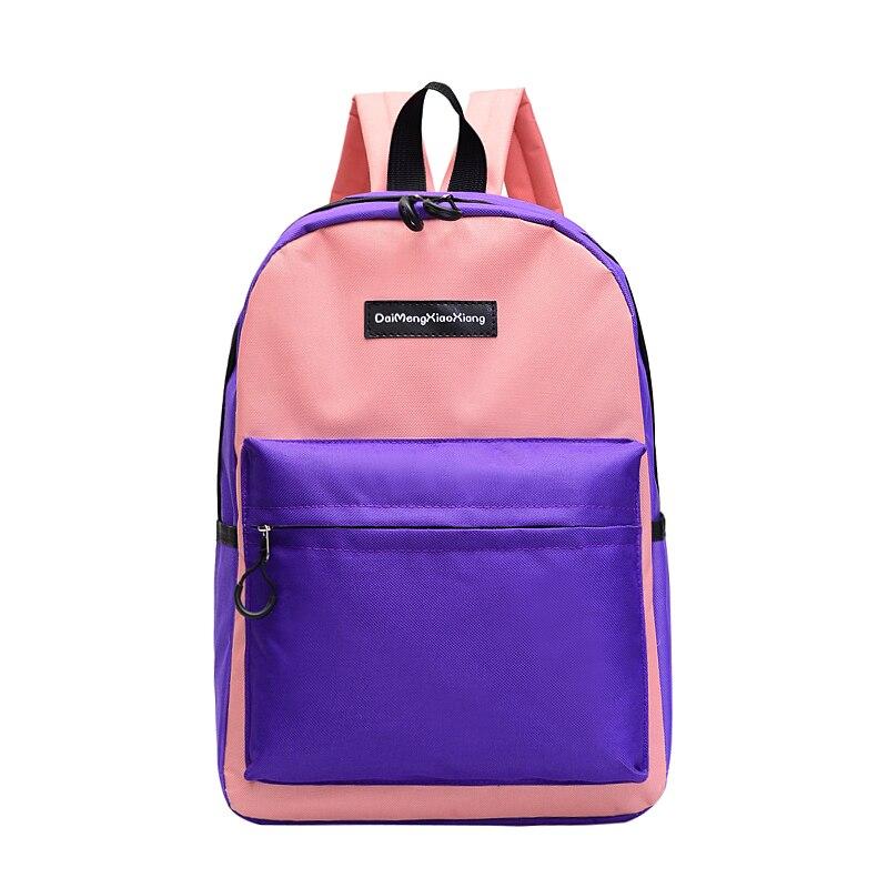 2018 toile plaine japon Style minimalisme meilleur sac à dos pour adolescente femme nouveau voyage loisirs femmes sac à dos sac à bandoulière