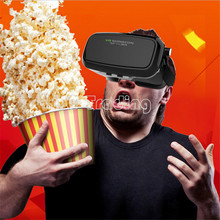2016 NEW:VR SHINECON Virtual Reality 3D Glasses Helmet VR BOX Headset Bluetooth Controller 3.5″-6.0″ Smartphone Free Shipping