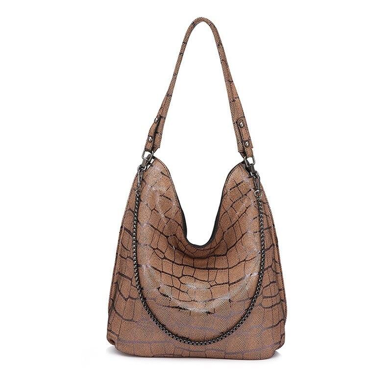 Tonny Kizz luxus handtaschen frauen taschen designer echtem leder weibliche schulter taschen geometrische damen hand taschen hohe qualität neue-in Schultertaschen aus Gepäck & Taschen bei  Gruppe 2