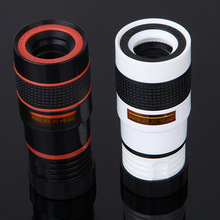 Clip-on 8x18 Optical Zoom Mobile Phone Telescope Lens HD Camera For Universal High Quality