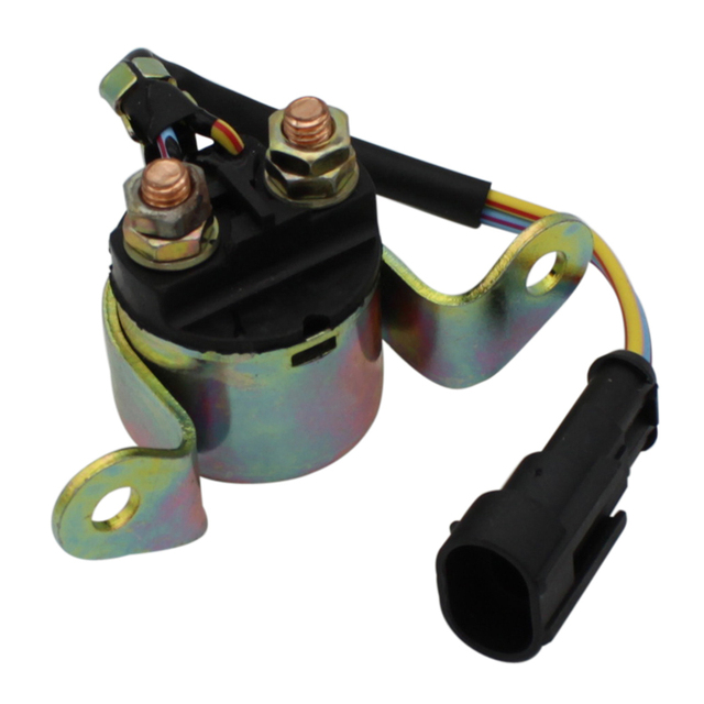 US $5 84 35% OFF|Cyleto Starter Relay Solenoid for Polaris Sportsman 500  4x4 08 09 / 570 ACE 2015 / Ace 325 2014 2015 Ranger Crew 500 2011 2012 -in
