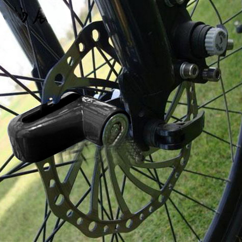 Mini Security Protect Disc Brake Anti-theft Disk Disc Brake Wheel Rotor Lock For Scooter Bike Scooter Motorcycle Alarm Lock