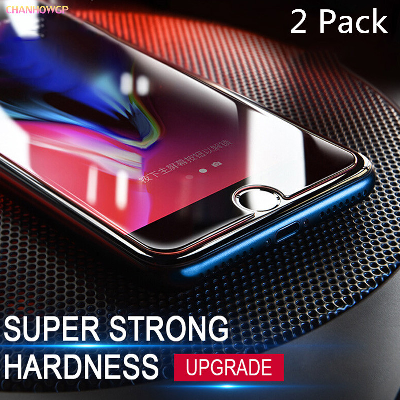 2 Pack Tempered Glass For Iphone 8 7 6 6s Plus 5 5s 5c Se 4 S X Screen Protector For Iphone 10 6 7 8 6s Protective Sklo Cover 9h Be Shrewd In Money Matters