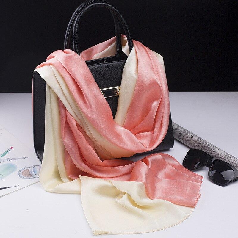Scarfblog шелк натуральный шарф шарфы женские шелковый шарф пряжа шарф хомут украшения на шею шелковый платок палантины , платки , шарфы платки и...