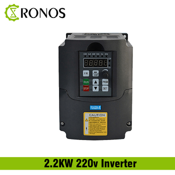 220 V 1.5KW 2.2KW Single Phase Input dan 3 Phase Output Frekuensi Converter/Adjustable Speed Drive/Frekuensi Inverter /VFD