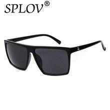 Vintage Steampunk gafas de Sol Cuadradas Hombres SKULL Logo Todo Negro Recubrimiento Gafas de Sol Mujeres Diseñador de la Marca Retro gafas de sol