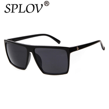 Square Sunglasses Men SKULL Logo All