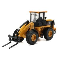 JINGBANG 1: 60 сплава Автопогрузчик модель игрушечной машины инженерные детские игрушки для детские автомобили мальчиков подарок