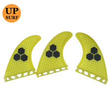 Future Fin Grey Fibreglass SUP Surfboard Fins in Surfing Surf Quilhas