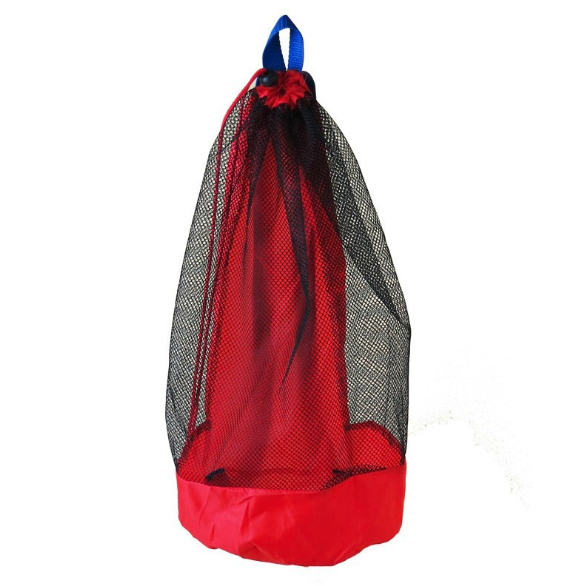 Portable Beach Bag Foldable Mesh Swimming Bag For Children Beach Toy Baskets Storage Bag Kids Outdoor Swimming Waterproof Bags 3