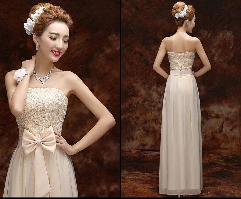 Lace Bridesmaid Dresses 2015 Long Party Dresses Formal Gown Wedding Elegant  Women Dress Vestidos De Fiesta en Vestidos de noche de Bodas y eventos en  ... ff7c16b3ea7d