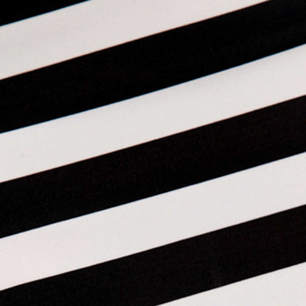 ผู้หญิง Mini กระโปรงฤดูร้อนสีดำ Stripe Elastic Bodycorn Slim Skinny ดินสอฝ้าย Casual กระโปรงสูงเอวเกาหลี Hip Casual