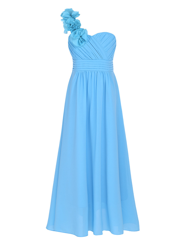 iEFiEL Floral Girl Dress Ball Gown Prom Formal Maxi Dress 4 14Y ...