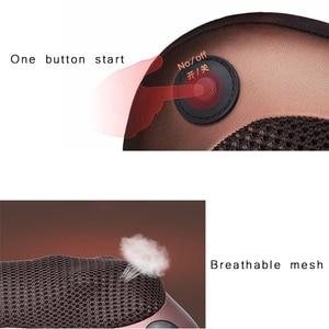 Image 4 - Ophax電気多機能ネックマッサージ車ホーム頚椎指圧マッサージバックウエスト脚枕リラクゼーション