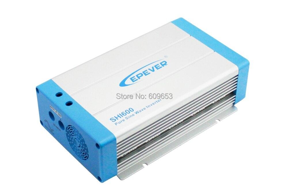 600 watt EPEVER SHI600W-12 12 v Reine Sinus Welle Solar-wechselrichter 12Vdc zu 220Vac off grid inverter Australien Europäischen DC zu AC SHI600W