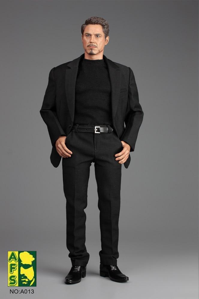 1/6 männliche Figur Zubehör A013 Iron Man TONY Gentleman Anzug Set & Schuhe Modell für 12 ''Action figuren Modell körper Zubehör-in Action & Spielfiguren aus Spielzeug und Hobbys bei  Gruppe 3