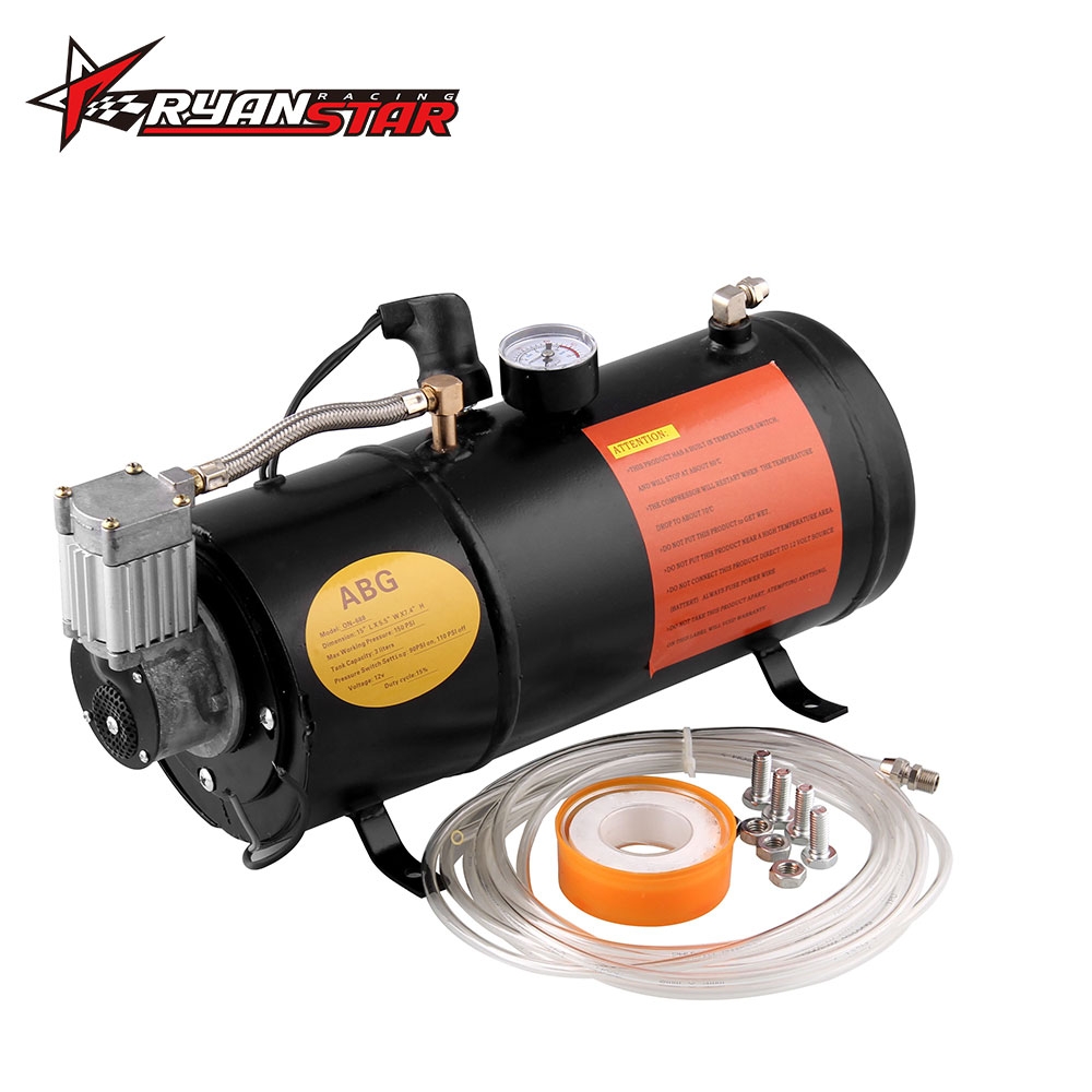 Back To Search Resultsautomobiles & Motorcycles Analytical 12v Air Compressor With 3 Liter Tank For Air Horn Train Truck Rv Pickup 125 Psi Ot200-bk