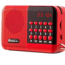 Карманное радио FM радио приемник Мини Портативный Перезаряжаемый радио приемник динамик Поддержка TF карта Музыка MP3 плеер