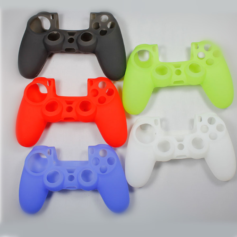Silicone skin cover case For PS4 controller game joystick Protective Cover For Sony PlayStation 4 console Dualshock Accessories