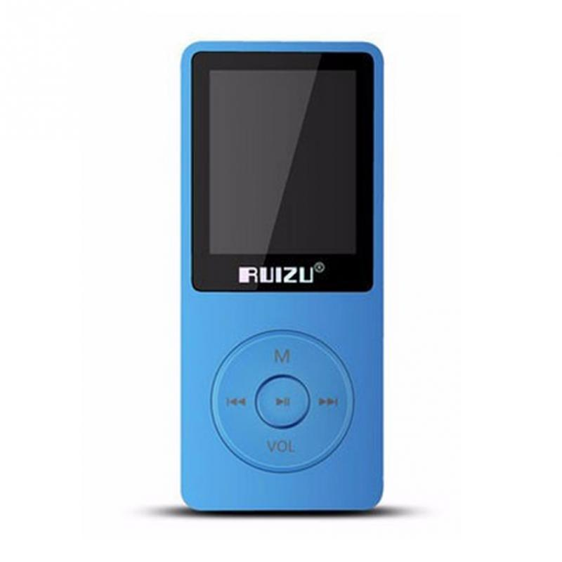 New Arrival RUIZU X02 HiFi 8GB Sport Music MP3 Player with 1 8 inch TFT Screen